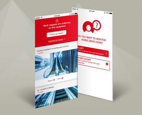 MOBILE APPLICATION FOR SERVICE REQUESTS