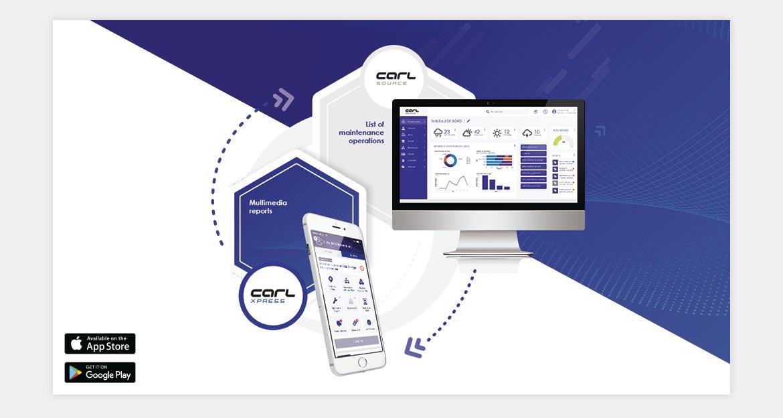 CARL XPRESS: Schematic - Express maintenance reports.
